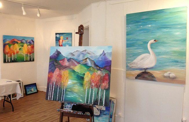 Malerier københavn mettes malerier