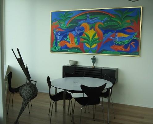 Kunst, maleri og akvarel
