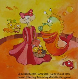 Børnebogen Gopelina og Blob en bog til børn