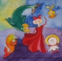 børnebogen gopelina og blob danser jitterbug