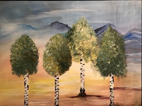Maleri af Mette Hansgaard