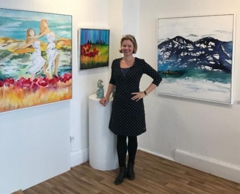 Kunstner Mette Hansgaard. om Mette