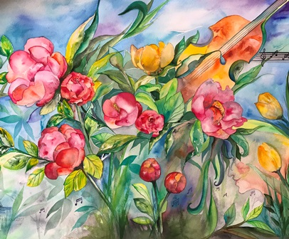 Mette Hansgaard udstiller på kunst for alle