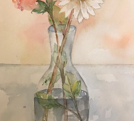 Akvarelkursus for akvarelinteresserede kursister