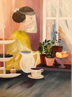 Coronakrise i danmark maleri af corona situationen