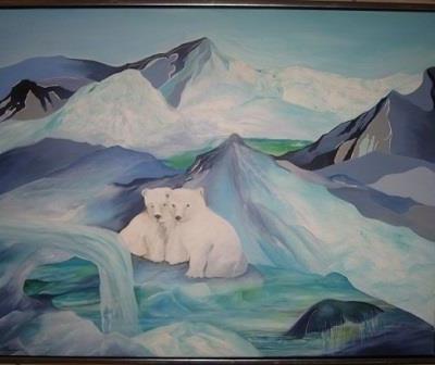 Malerier om klima og miljø