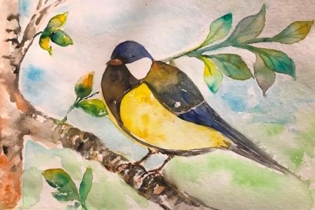 akvarelkursus af Mette Hansgaard