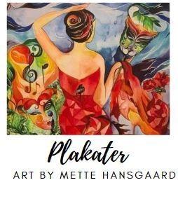 plakater af kunstner Mette Hansgaard