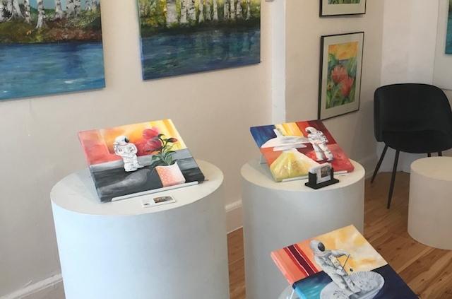 kunst til salg figurative malerier og akvarel