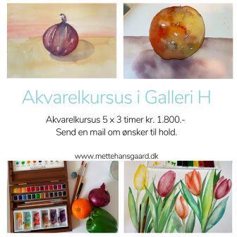 Akvarelkursus i København