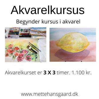 akvarelkursus