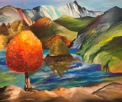 Maleri inspireret fra München onlineshop