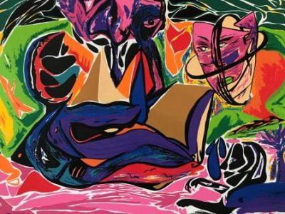 Kunsttryk billeder til boligen i farver