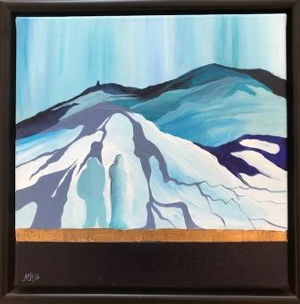Moderne kunst. Maleri nordisk natur