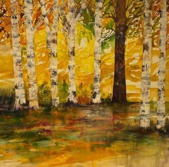 Birkeskoven-landskabsmalerier