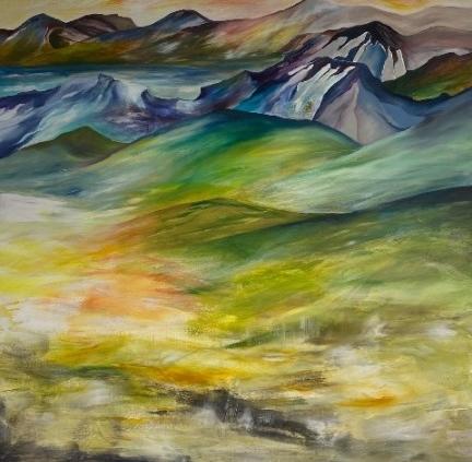 Malerier-med-bjerge
