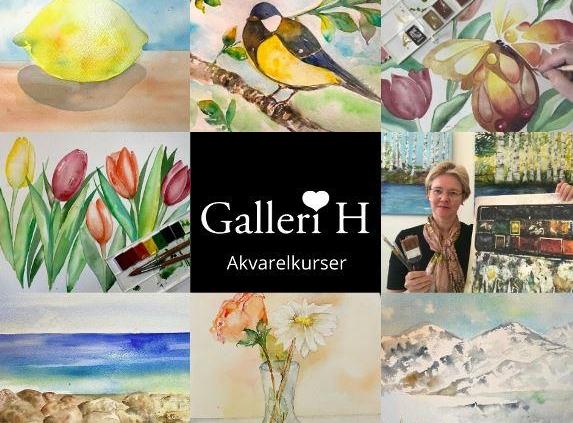 Kunstner Mette Hansgaard´s kunst og kurser
