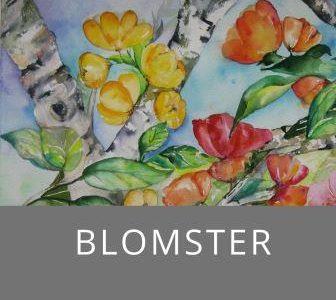 Blomster billeder kunst med blomster