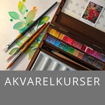 Akvarelkursus ved Mette Hansgaard