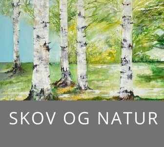 Malerier med birketræer online gallery