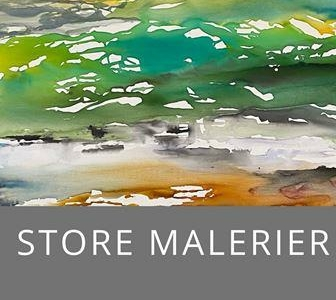 Store malerier