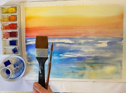 gratis akvarelkursus